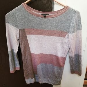 The Limited colorblock sweater